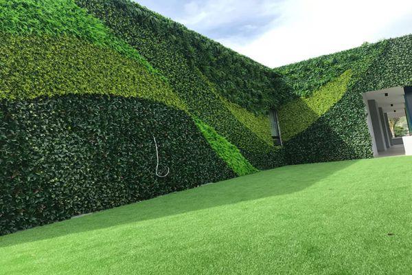 artificial plant wall landscape