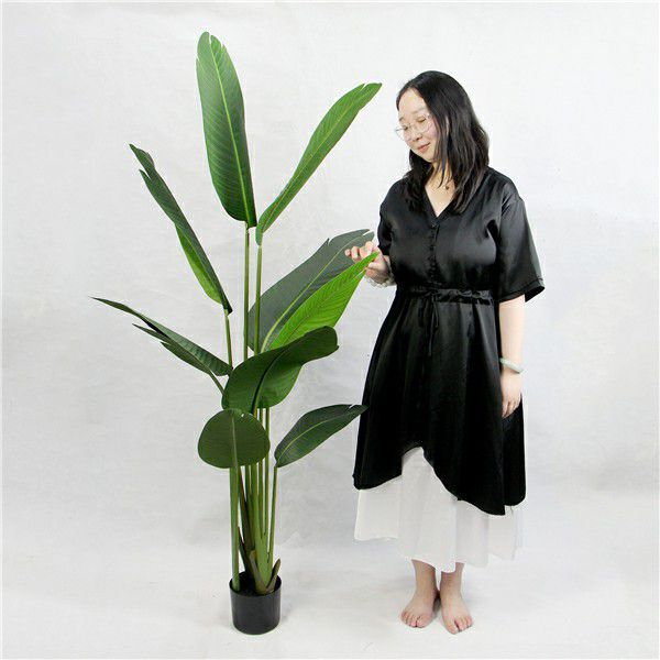 size of artificial tree plant