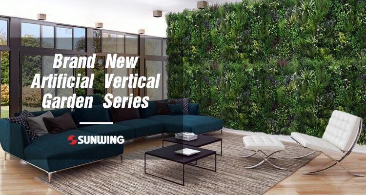 Brand New Artificial Vertical Garden Series