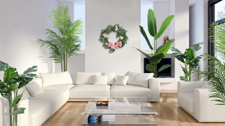 artificial tree plants decor indoor