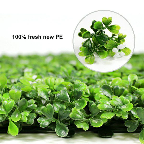 artificial box hedges 100% fresh new PE