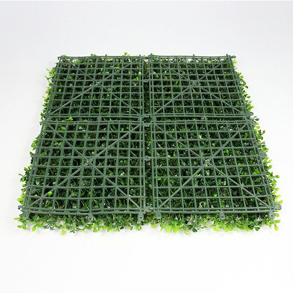 backdrop of artificial boxwood A036