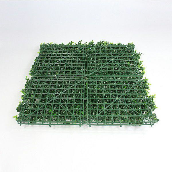 backdrop of faux boxwood A006