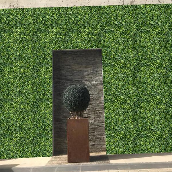 landscaping artificial box hedges A013