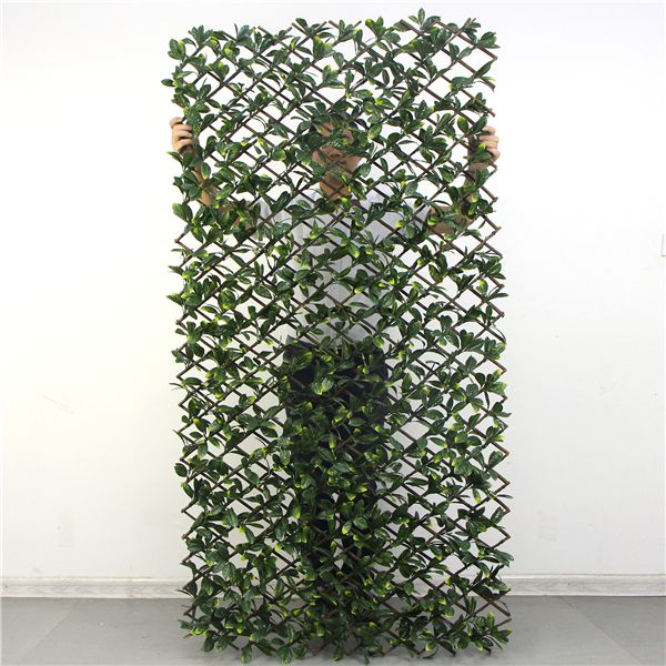 tall artificial willow trellis