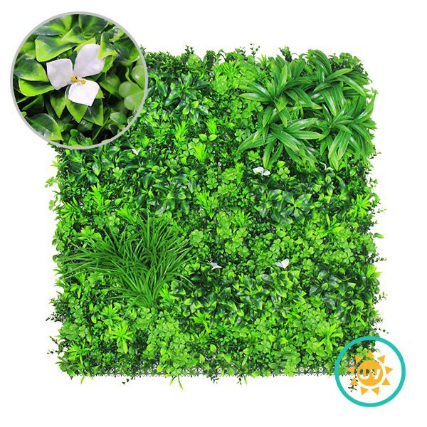 Outdoor UV Resistant Artificial Vertical Garden Wall
