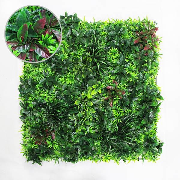 Thorn Bush Faux Plant Wall