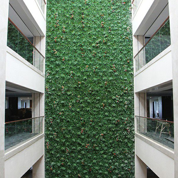 artificial plants wall landscaping