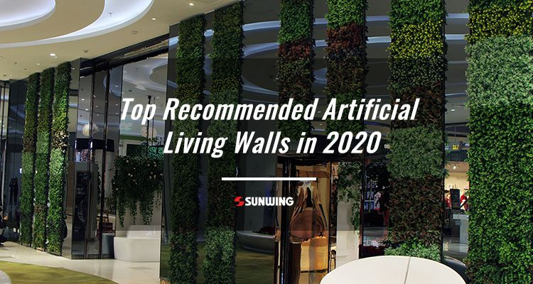 Top recommended artificial living walls in 2020