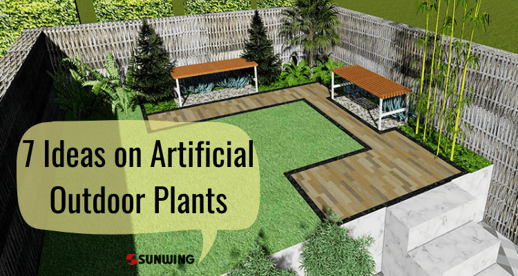 7 Ideas on Artificial Outdoor Plants