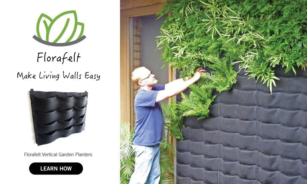 Florafelt vertical garden systems make living walls easy for Vertical garden wall systems