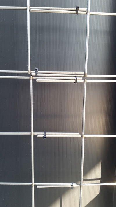 Florafelt Pro System Wire Grid Mounting Custom Sizing Overlap