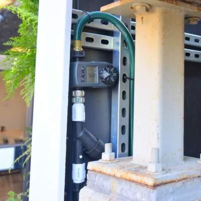 Florafelt Drip Irrigation Orbit Digital Hose Timer with Regulator Filter