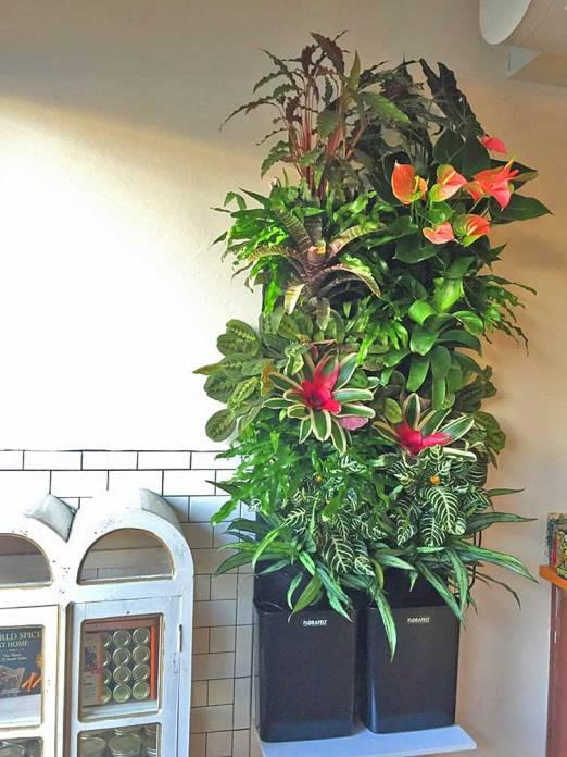 Florafelt Compact Vertical Garden Kit by Rebecca Sheedy Floraform Design.