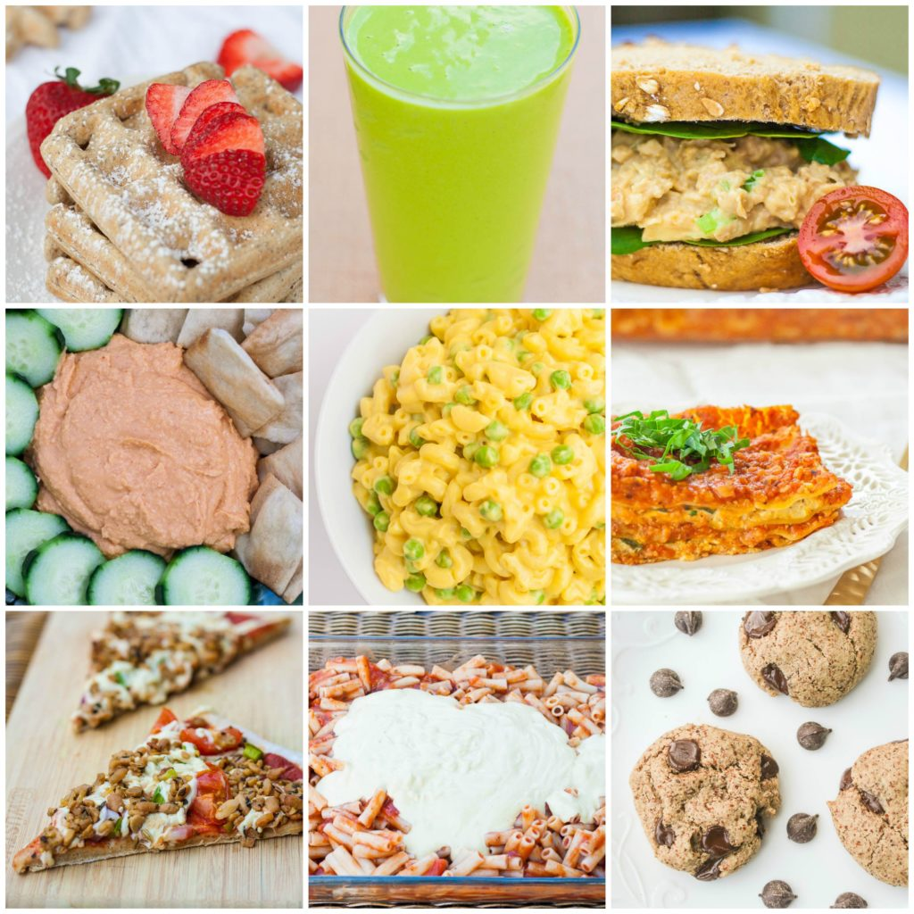 Plant strong kids tips and meal plan!