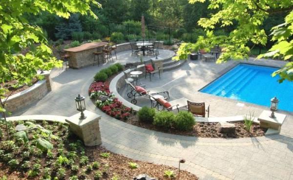 inground pools plant studio landscaping