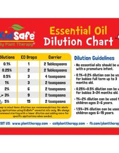 Dilution chart kidsafe magnet essential oils plant therapy also timiznceptzmusic rh
