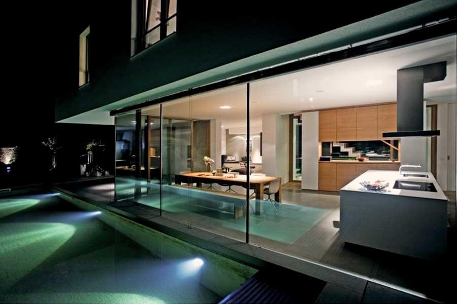 AB17 – Neubau eines Niedrigenergie Einfamilienhauses mit Pool