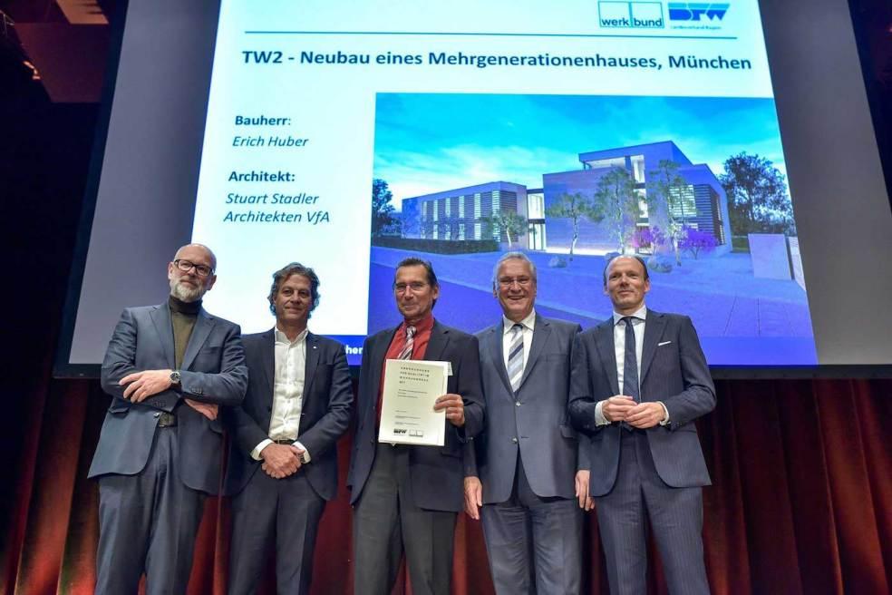 TW2 - Auszeichnung Qualität im Wohnungsbau 2017