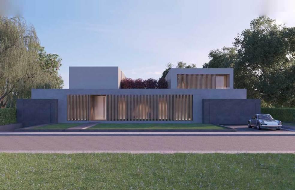 HW18 – Neubau eines Wohnhauses mit Tiefgarage und Pool Titelbild