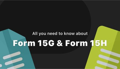 Download and Fill Form 15G and Form 15H to Avoid TDS on Interest Income