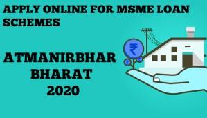 Apply Online for MSME Loan Schemes under Atmanirbhar Bharat 2020
