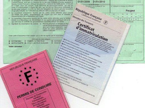 Usurpation plaques d'immatriculation