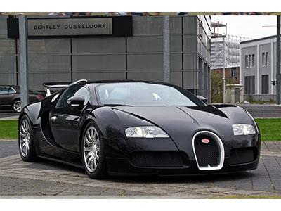 Plaque d'immatriculation F1 pour Bugatti Veyron : 20 millions de Dollars