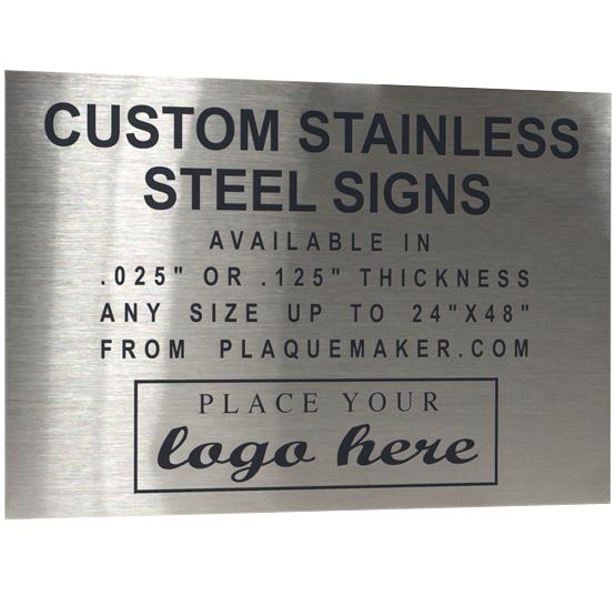 laser fused stainless steel