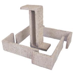 Esquina Semimanual Blanca Raspada 24×11,25×7,5×1,5cm