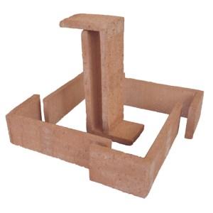 Esquina Semimanual Cuero Raspada 24×11,25×7,5×1,5cm