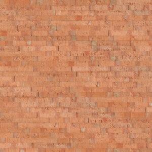 Plaqueta Semimanual Cuero Rústica 22x3x1,5cm Refrentada