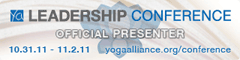 Yoga Alliance Leadership Conference Presenter