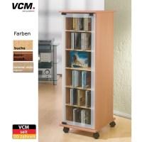 CD DVD Schrank VCM Valenza-Valenza