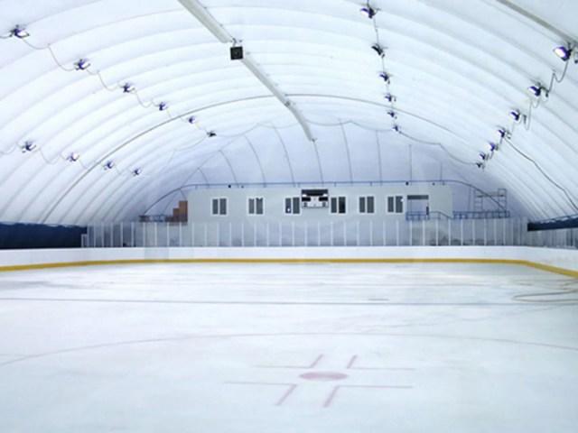 Pressostatica per campo hockey