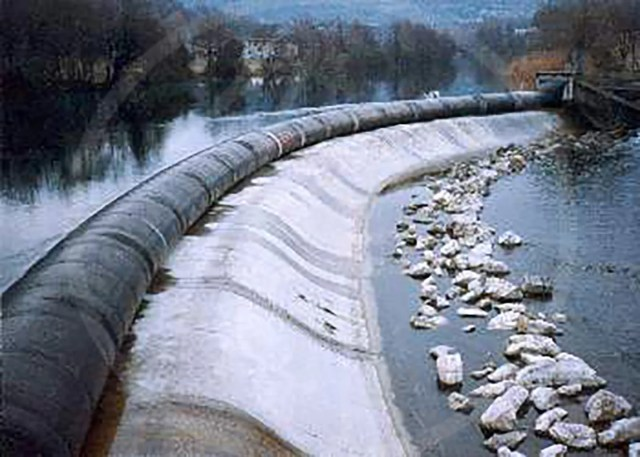 1 mt. diam. Anti-flooding barrier-dam