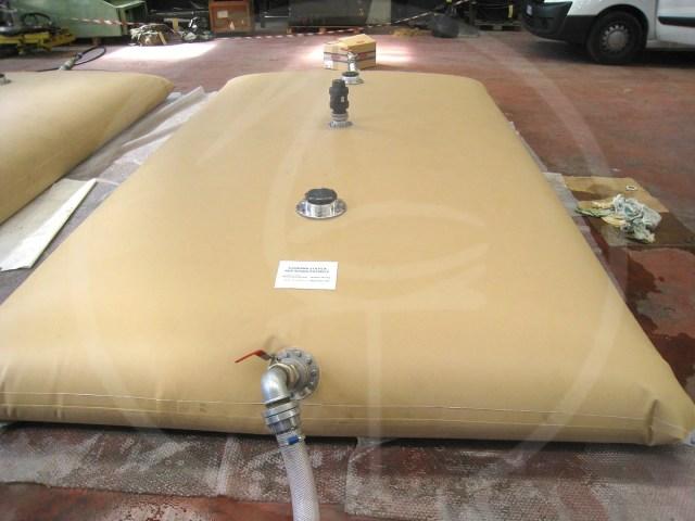 cisterna flessibile 5000 lt per uso alimentare