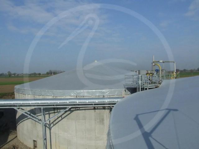 Couverture pour biogaz - Fidenza