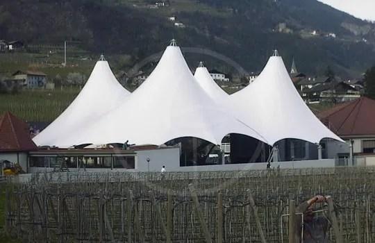 Zelttheater Maße 40 x 40