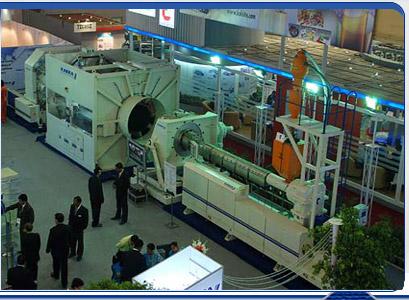 Manufacturer High Tech Plastic Extrusion Machine