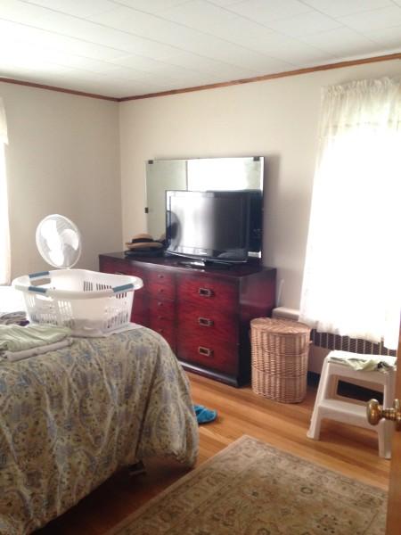 Master bedroom before