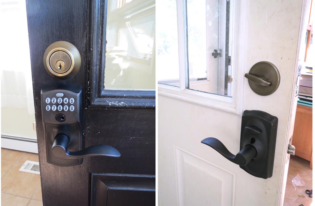 Schlage keyless locks