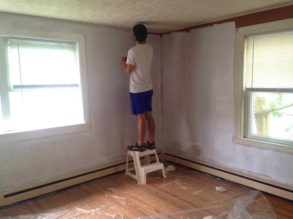 Priming over dark paint -- Plaster & Disaster