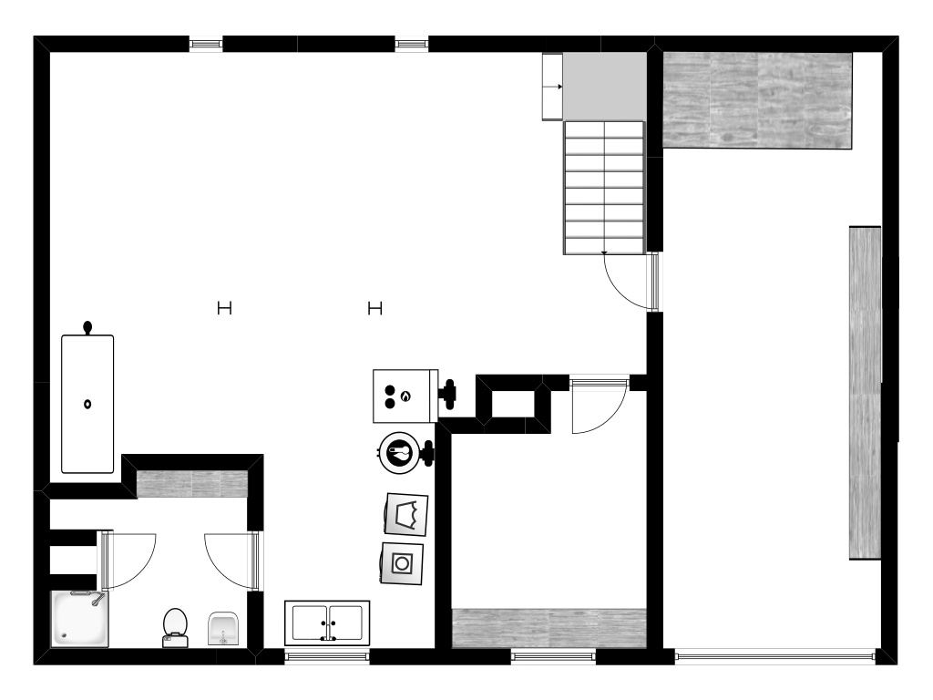 Naomi Basement Floor Plan - Plaster & Disaster