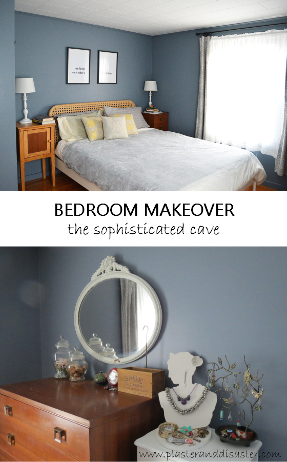 Bedroom makeover - a sophisticated cave - Plaster & Disaster