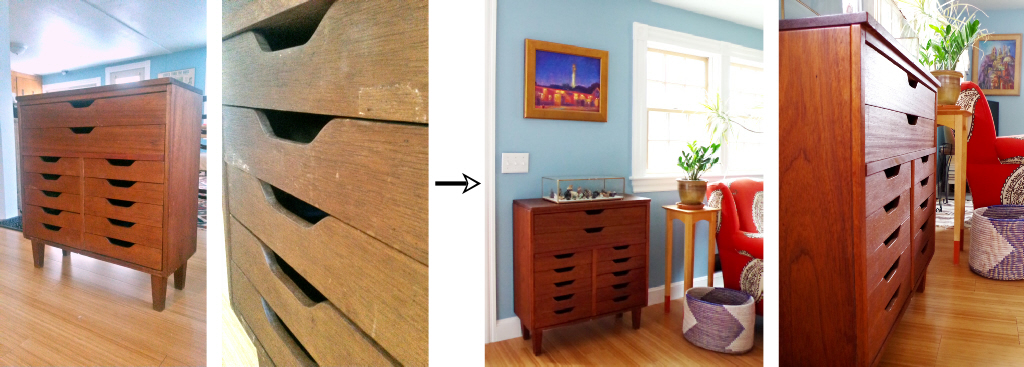 Furniture Makeover - Howards Feed and Wax - Plaster & Disaster