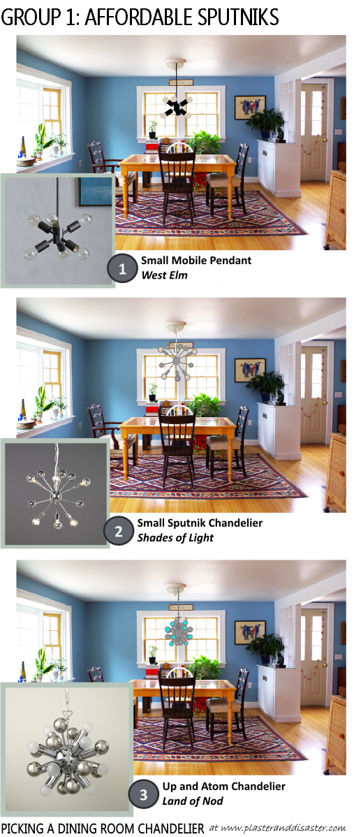 Picking A Dining Room Chandelier
