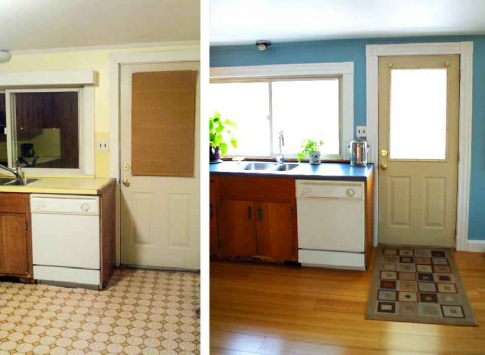 Kitchen Half Makeover - Before and After Progress - Plaster & Disaster