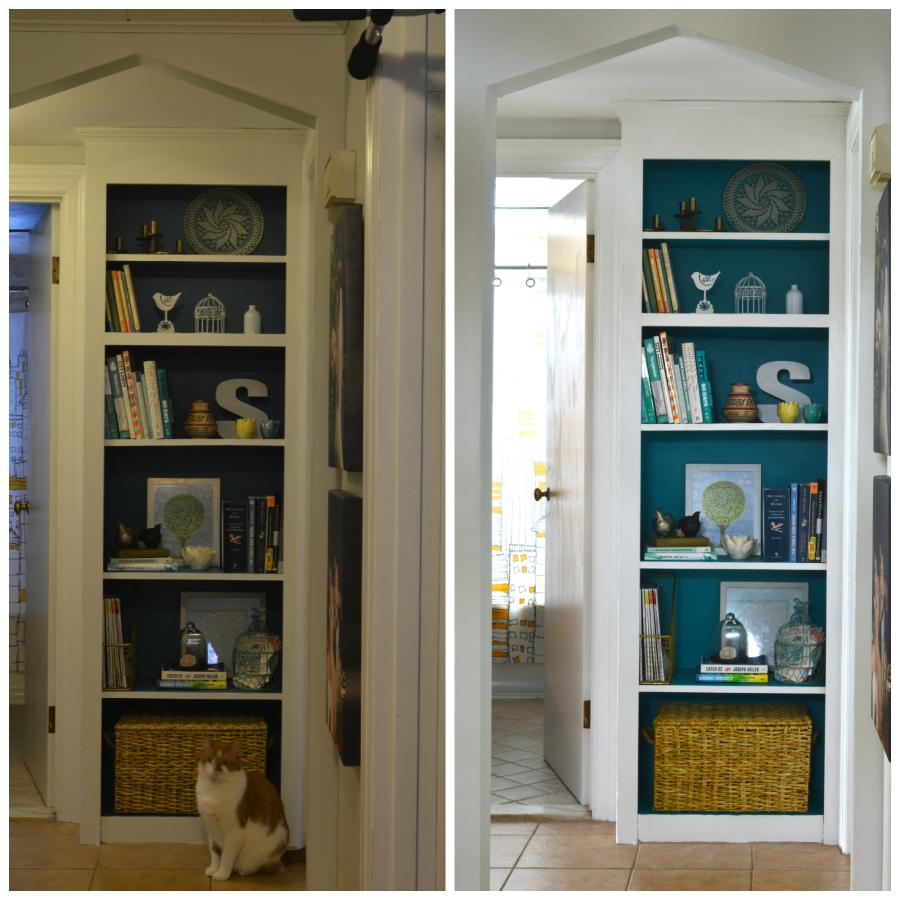 Same room, adjusting shutter speed -- Plaster & Disaster