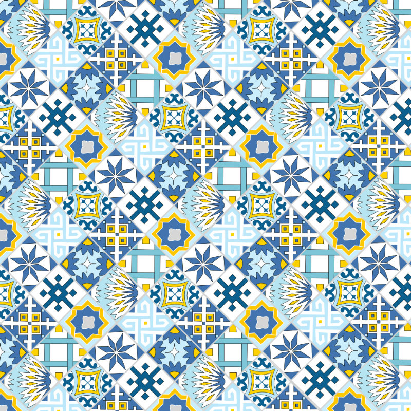 Designing My Own Shower Curtain First Tile Pattern Plaster